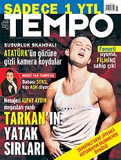 Magazine reports on Tarkan's bedroom secrets