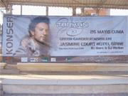 Tarkan billboards for May concert in northern Cyprus