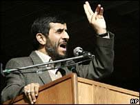 Mahmoud Ahmadinejad says Iran's intentions are peaceful