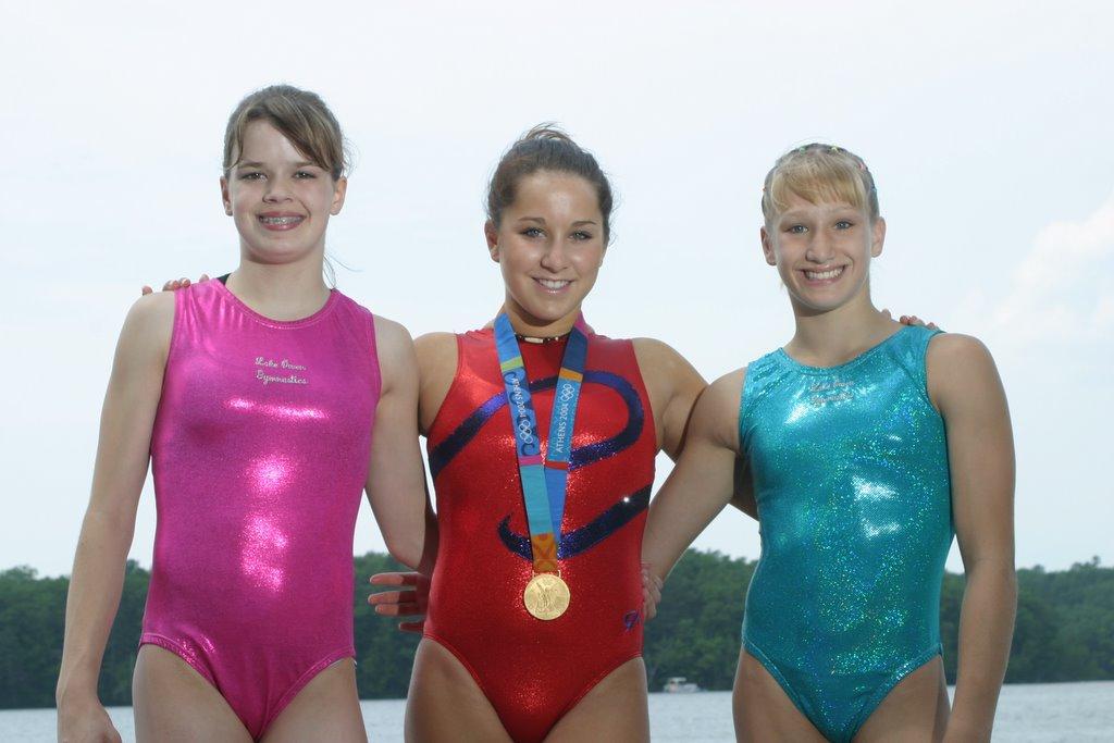 Gymnast Amelia Rew: Meeting Carly Patterson