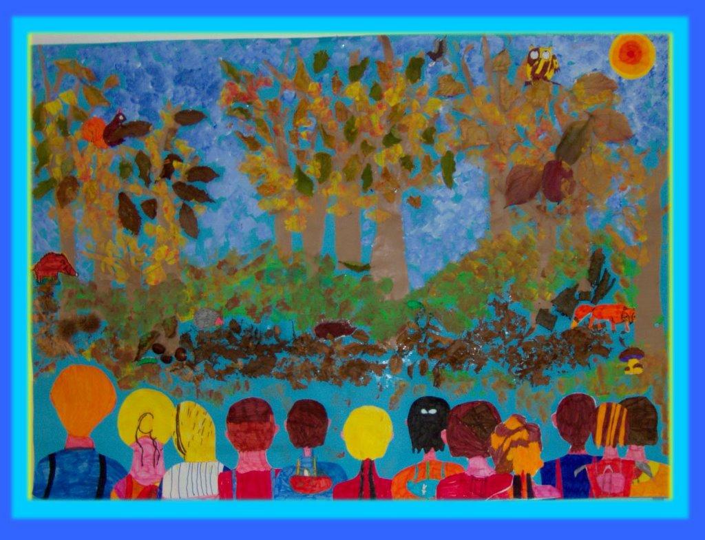 Ciao bambini ciao maestra alla scoperta del bosco plessiva for Cartelloni scuola infanzia