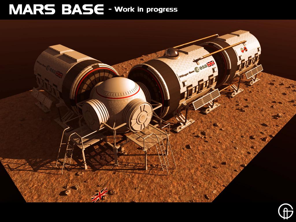 mars base layout - HD1024×768
