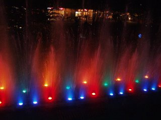 Water symphony fountain - One of the songs