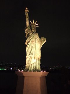 Statue of liberty... in Japan?