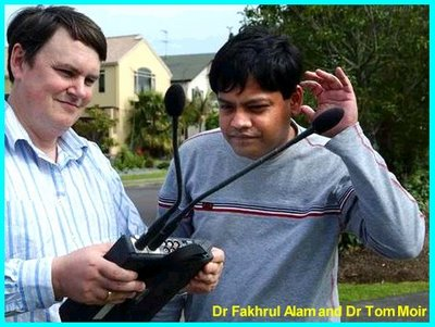 Dr Fakhrul Alam and Dr Tom Moir