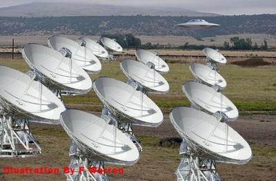Saucer Inspecting Allen Array