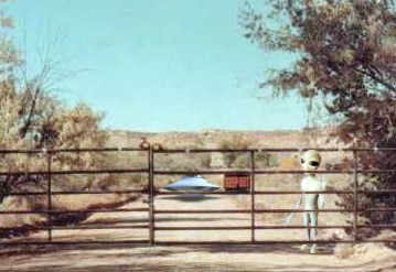 Skinwalker Ranch Entrance