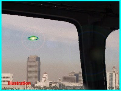 UFO Over Long Beach