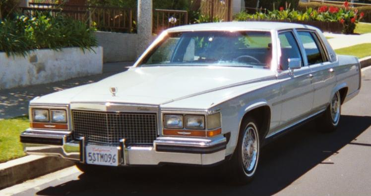 Car For Sale Cadillac Fleetwood Brougham D Elegance 1987