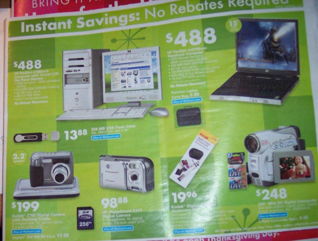 Wal Mart November 2005