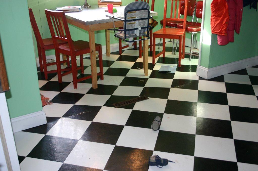 Kitchen Strawberry Mess On Floor