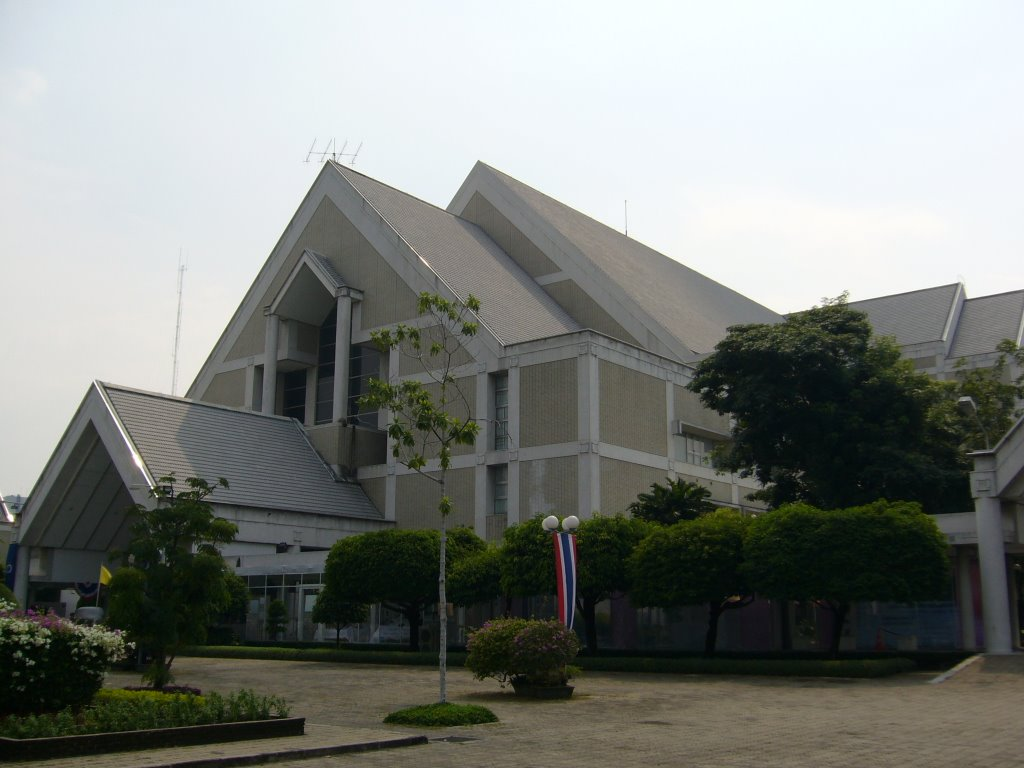 ศูนย์วัฒนธรรมแห่งประเทศไทย: อาคารและสถานที่สำคัญๆ