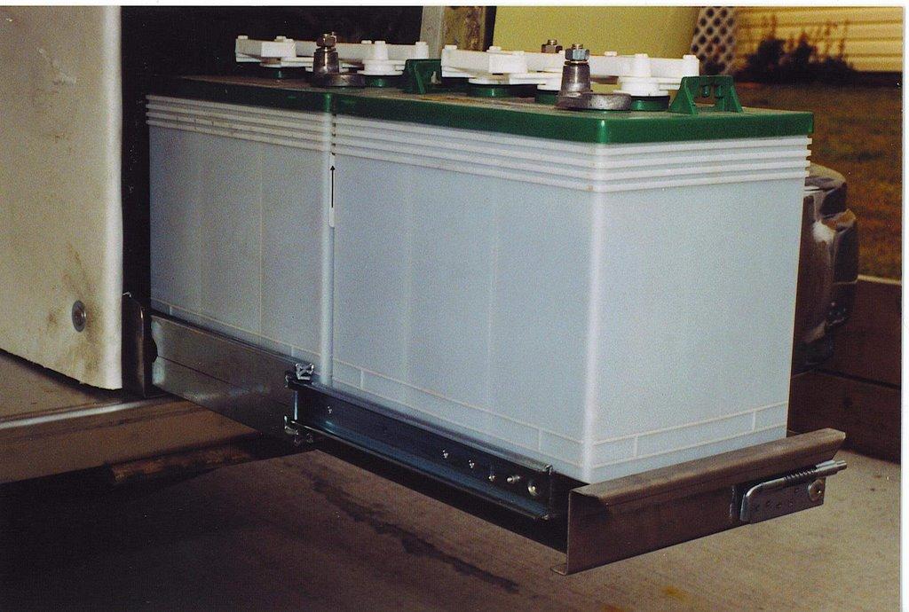 Gmc Motorhome Custom Products Battery Tray Rear