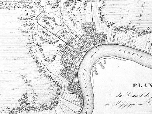 Map Of Marigny New Orleans THE THIRD BATTLE OF NEW ORLEANS: Map du Jour: 1828 New Orleans and