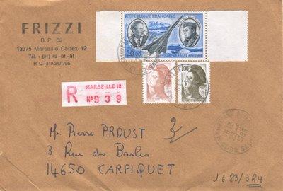 Blog philat lie lettre recommandee r4 - Achat par correspondance belgique ...