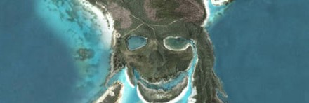 Piratas del Caribe II en Google Earth
