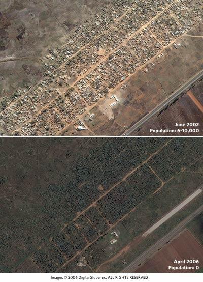 Imágenes de satélite para denunciar abusos de los derechos humanos