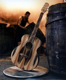 Guitarras whisky