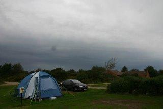 Black clouds over Norfolk