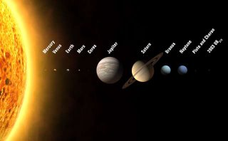 The new solar system. Graphic: IAU