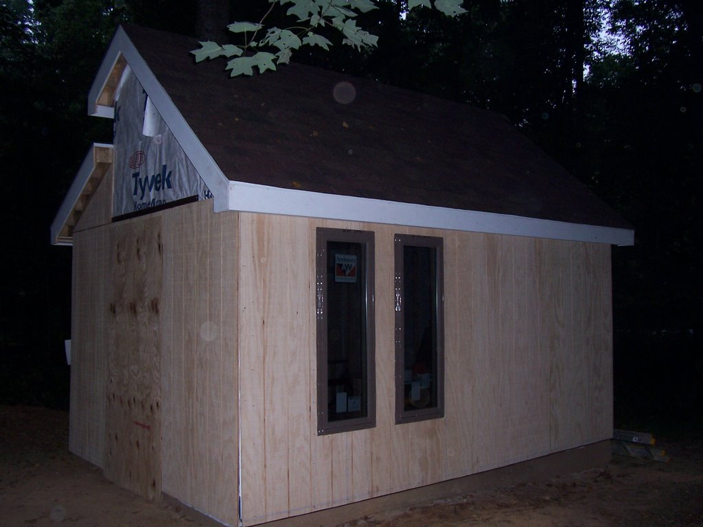 How To Build A Contemporary Shed August 2006