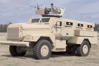 The Iraqi Light Armoured Vehicle - aka the Cougar