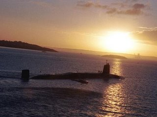 HMS Victorious - one of the submarines to receive an upgraded sonar