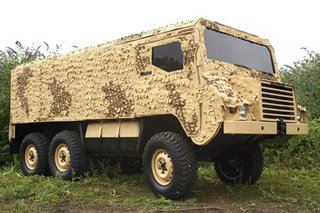 The Pinzgauer 'coffin on wheels' - destined for mine-infested Afghanistan