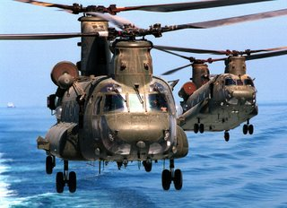 The Chinooks are coming