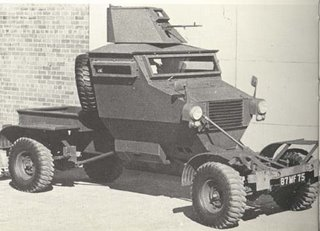 An early Rhodesian mine protected patrol vehicle - the 'Cougar'