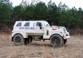 Another of the US concepts being investigated as a replacement for the Humvee
