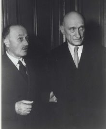Jean Monnet and Robert Schuman