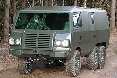 The Pinzgauer - a 'coffin on wheels'?