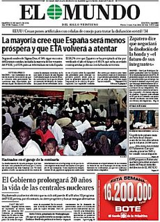 Playing big in the Spanish press - the Canaries immigration crisis