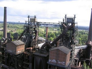 Disused (now) blast furnaces on the Ruhr - the foundation of the EU