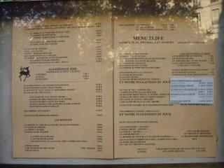 Restaurant La Biche Au Bois  Paris