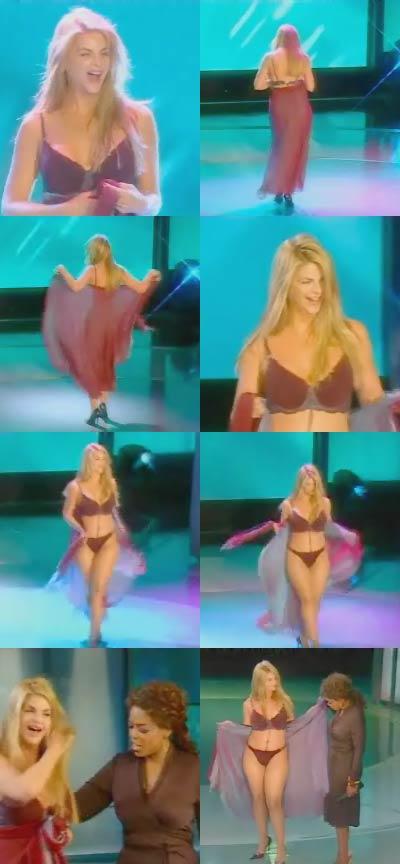 oprah reveal bikini kirstie Alley