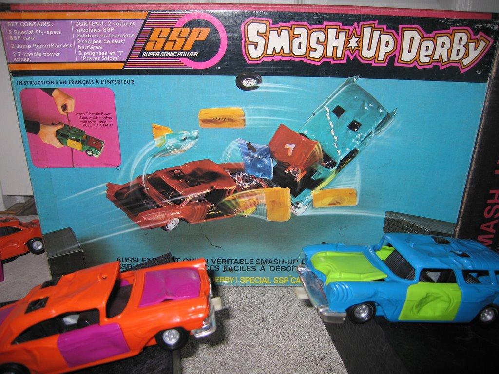 Crash Derby Cars Toys