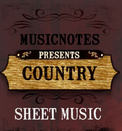 Country Sheet Music and Guitar Tab