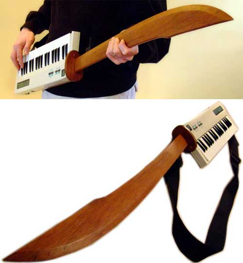 Music Thing Ebay Of The Day The Midi Sword Keytar