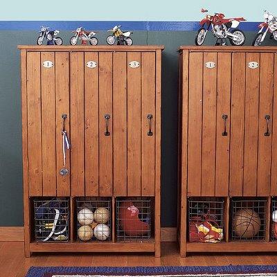 Vintage School Lockers Poppytalk