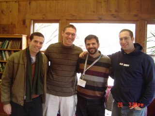 the 3 YCT guys with Rabbi Lopatin