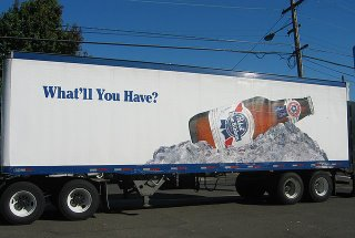 Pabst Blue Ribbon delivery