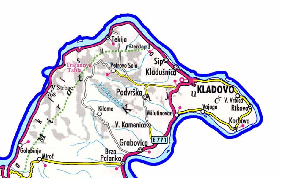 karta srbije kladovo snuffer_blog: Kako (p)ostati normalan u Kladovu?? (part 0) karta srbije kladovo