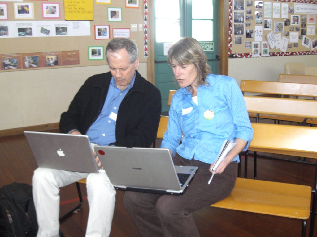 Thanks to Bruce, Jill & Jamie for their considerable input into our day.  Presentations & links to our presenters sites are on the Interact site.