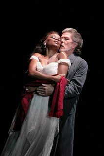 Sam Ramey and Denyce Graves in the WNO Bluebeard, photo by Karin Cooper