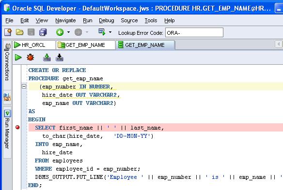 Remote Debugging With Sql Developer