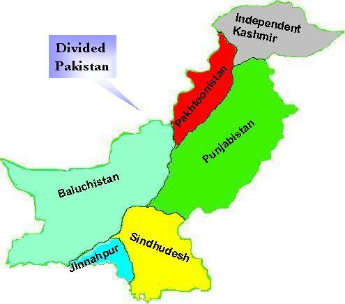 Pakistan - Wikipedia  Pakistan State Map