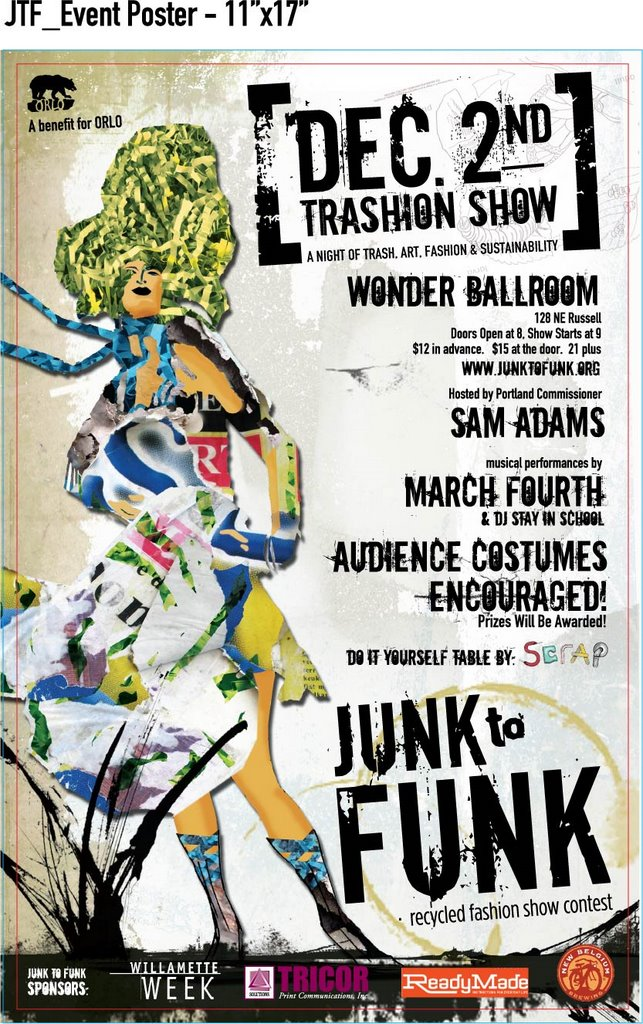 Junk To Funk Recycled Fashion Show Contest A Night Of