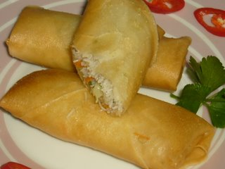 Aneka Kue Basah Tradisional : Resep Lumpia Goreng Isi Rebung dan Pastel Renyah Tahan Lama